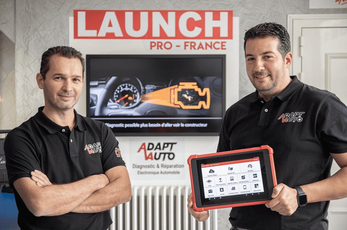 adapt auto distributeur launch